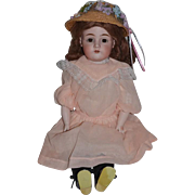 "Antique Doll Kestner 154 Dressed Darling Bisque Head DEP 24"" Tall"