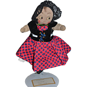 Old Doll Cloth Doll Rag Doll Character Doll Unusual