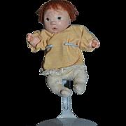 Vintage Doll Dianne Dengel Cloth Doll Artist Doll Character