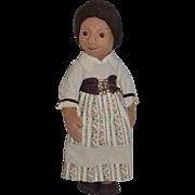 Vintage R. John Wright Cloth Doll Peasant Cloth Doll