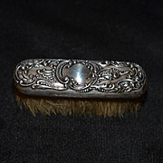 Victorian Doll Sterling Ornate Brush For Vanity of French Fashion Doll Miniature