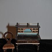Antique Doll Waltershaunsen Miniature Dollhouse Lady's Desk
