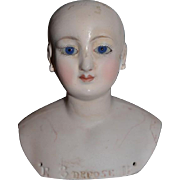 Antique Doll Bisque French Fashion Incised Depose