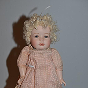 Vintage Doll Artist Helen Carr UFDC Numbered Sweet