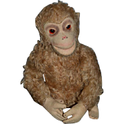 Old Wonderful Monkey Doll Toy Mohair Jointed Steiff??