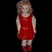 "Wonderful Artist Doll 17"" Tall Polly Mann Glass Side Glass Eyes 1976 CUTIES! Pollykins"