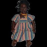 Vintage Doll Annette Himstedt Fatou Black Doll Character Large