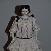 Antique Doll China Head Unusual W/ Corset Pat. Dec. 7/80