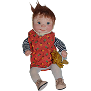 Wonderful Dianne Dengel Doll Cloth Doll Character
