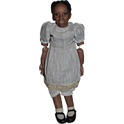 Wonderful Doll Artist Doll Black Signed Amy Jointed Character Child