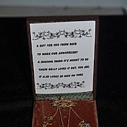 Wonderful Chatelaine For Your Doll DSCB Doll Study Club of Boston Wonderful In Original Box