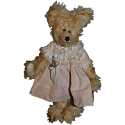 Artist Teddy Bear Sally Winey Bear Jointed Mohair ADORABLE