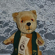 Wonderful Teddy Bear Merrythought English Bear Jointed Mohair W/ Tag