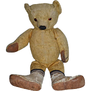 Old Teddy Bear Jointed Mohair Sweet Face RELAXING and Waiting for a Home!