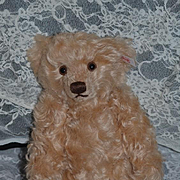 Wonderful Teddy Bear Curly Hair Steiff w/ Button Tag