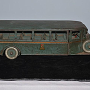 1920'S Rare Antique Buddy L Passenger Bus All Original
