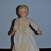 Antique Doll Martha Chase Oil Cloth Sweet Size