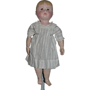 Old Martha Chase Oil Cloth Doll Adorable Nicely Dressed Ready To Display