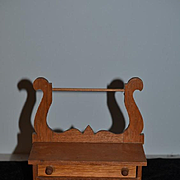 Wonderful Wood Doll Size Hand made Wash Stand Doll Size