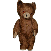 Old Teddy Bear Brown Bear Jointed Mohair Wonderful Face