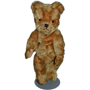 Old English Teddy Bear Jointed Mohair ADORABLE Face