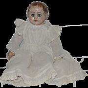 Wonderful Antique Ella Smith Alabama Baby Doll W/ Painted Shoes Oil Cloth Doll