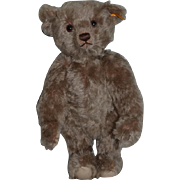 Vintage Teddy Bear Steiff W/ Button Tag Jointed Mohair