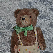 Old Teddy Bear Pull String For Talking English? Jointed Mohair