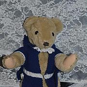 Vintage Teddy Bear Fritz Ferschl 1988 Yes and No Teddy Bear Artist House of Nisbet