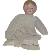 Antique Doll Martha Chase Wonderful Sweet Size Oil Cloth Doll