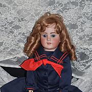 Antique Doll Simon & Halbig Bisque Doll 550 Adorable Sailor Girl