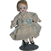 Artist Doll Dollhouse Doll Miniature Signed Bisque
