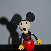 Mickey Mouse Wood Doll Schylling Disney Character