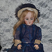Antique Doll Bisque Simon & Halbig C.M. Bergmann Large Doll Gorgeous Clothes