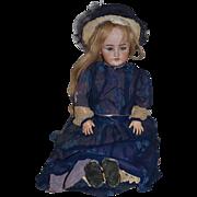 Antique Doll Bisque Simon & Halbig C.M. Bergmann Large Doll Gorgeous Clothes