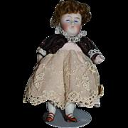 Antique Doll Bisque All Bisque 230 Kestner Miniature Dollhouse