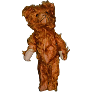 Old Teddy Bear Straw Filled Sweet! Jointed