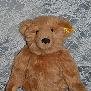 Vintage Teddy Bear Steiff Jointed Long Arms Button Tag