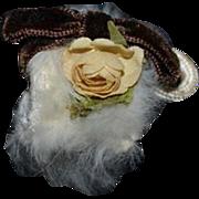 Sweet Doll Miniature Fur Muff Artist Dollhouse