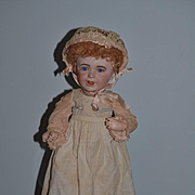 Antique Doll Bisque S.F.B.J.  French 236 Toddler Dressed