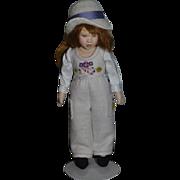Wonderful Doll Artist Doll Cloth Doll Felt Doll Maggie Iacono Unusual Size
