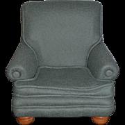 R. John Wright Doll Chair For Winnie The Pooh W/ Button Winnie The Pooh's Favorite Chair