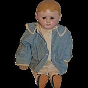 Antique Doll Cloth Doll Oil Cloth Doll Martha Chase