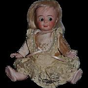 Antique Doll Googly Bisque Doll ALL BISQUE Wonderful Rare Model 131 Kammer & Reinhardt