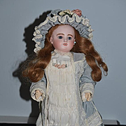 Antique Doll French Bisque Bebe Gigoteur Jules Steiner Gorgeous Wind Up Mechanism Walking Turns Head Moves Arms