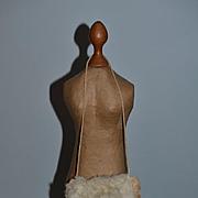 Antique Doll Fur Muff Miniature French Fashion Accessory