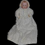 Antique Doll Bisque Georgene Averill Bonnie Babe Big Baby