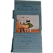 Wonderful Doll Book Signed Modern Dollhouse Dolls Book III Eunice P. Tuttle 1970 Miniature Book NIADA Doll Artist