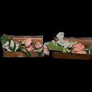 Antique Doll Copper Flower Window Boxes For Dollhouse Flower Box Window Box