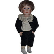 "Antique Doll Large Solid Dome Bisque Head SFBJ French Doll 27"" Tall SWEET BOY!"